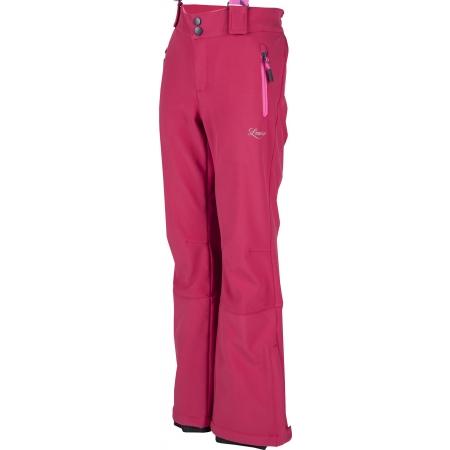 Dívčí lyžařské softshellové kalhoty - Lewro LONDON 140-170 - 1