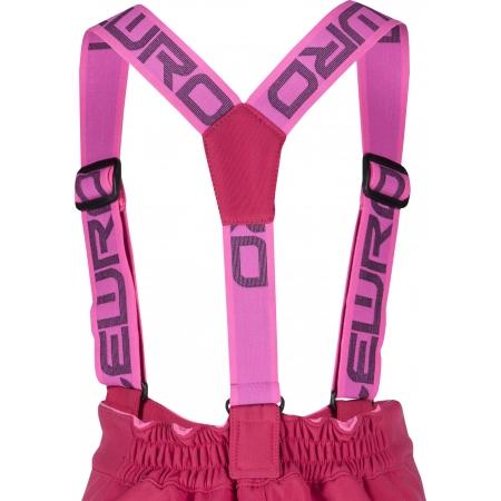 Dívčí lyžařské softshellové kalhoty - Lewro LONDON 140-170 - 4