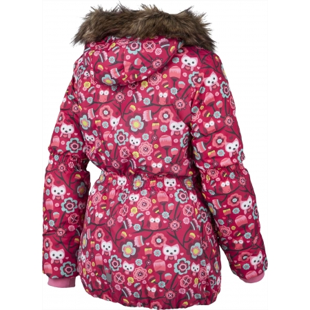 Dievčenská zimná bunda - Lewro LAWANDA 140-170 - 3