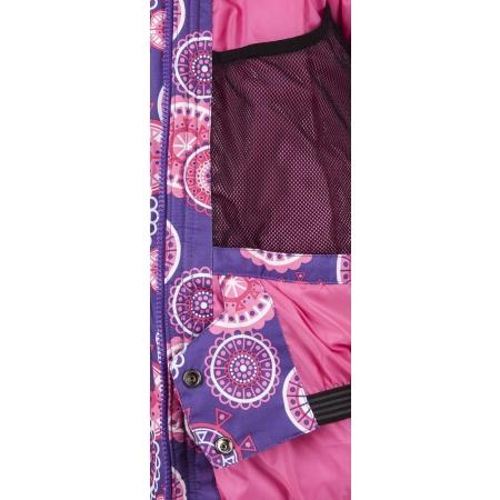 Dievčenská zimná bunda - Lewro LATISHA 116-134 - 4