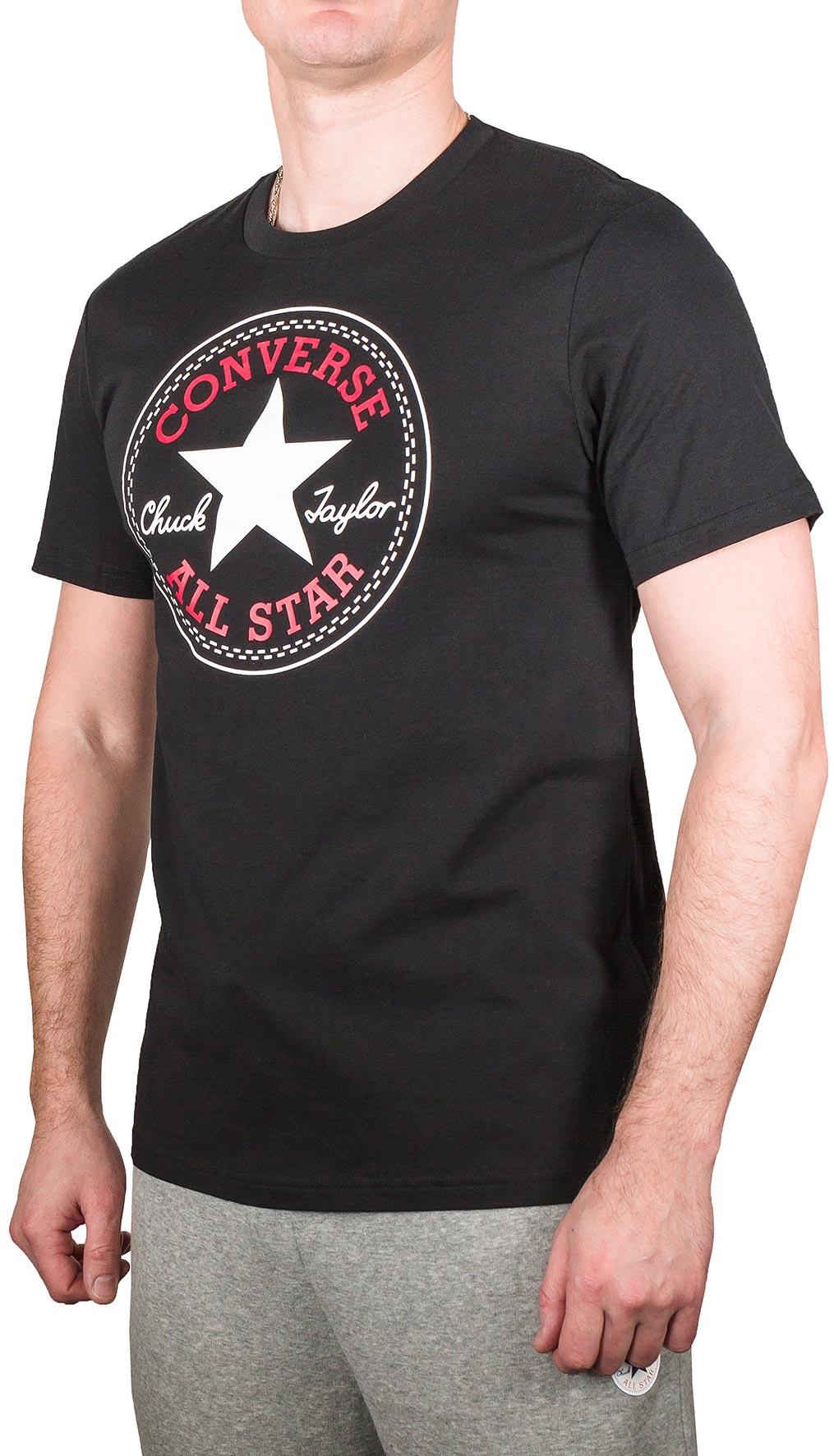 81dcafe676c Converse CORE CHUCK PATCH TEE. Pánské tričko
