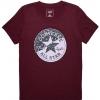 Dámské tričko - Converse SPLICED LEOPARD CP CREW TEE - 2