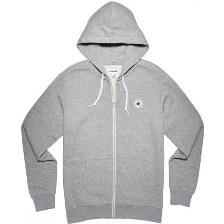 deb567290a2b9 Men s sweatshirt - Converse CORE FULL ZIP HOODIE - 1