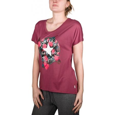 8be44e052f1 Dámské tričko - Converse FLORAL CP FEMME TEE - 3
