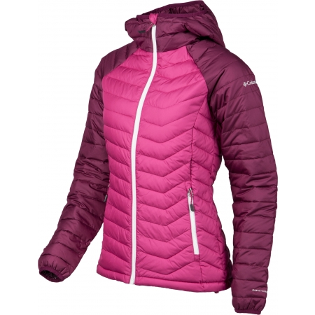Dámska zimná bunda - Columbia POWDER LITE HOODED JACKET - 2
