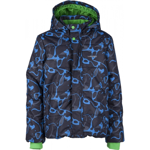 Lewro LAMAR 116-134 - Chlapčenská zimná bunda
