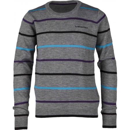 55753f3f540 Dětský pletený svetr - Lewro FELIX 140 - 170 - 1