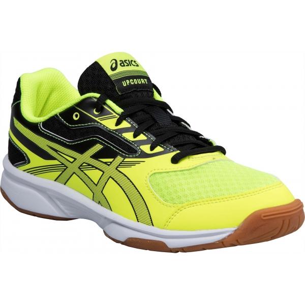 Asics UPCOURT 2 GS žlutá 3.5 - Dětská sálová obuv