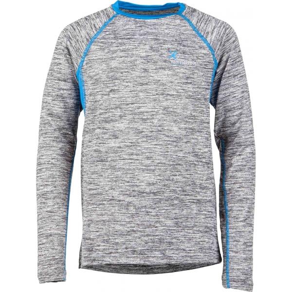 Klimatex ELINE modrá 122 - Dětské funkční triko s dlouhým rukávem