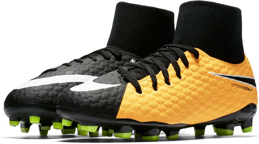 big sale e5c0f 6a5f0 Nike HYPERVENOM PHELON FG DF JR