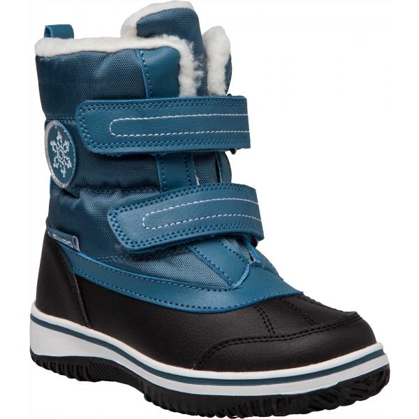 Lewro CAMERON modrá 25 - Detská zimná obuv