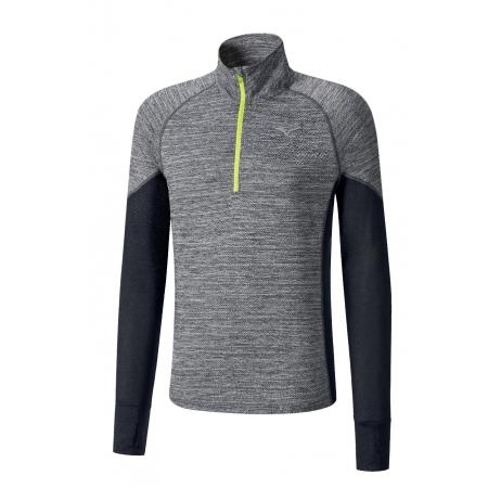 Pánské běžecké triko - Mizuno ALPHA LS HZ