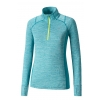 Women's running T-shirt - Mizuno ALPHA LS HZ W - 1