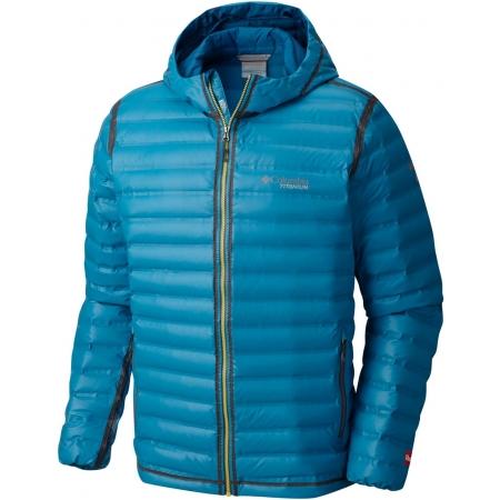 Pánská zimní bunda - Columbia OUTDRY EX GOLD DOWN HOODED JKT - 1