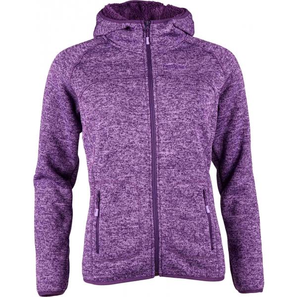Head FENELLA lila XXL - Női polár pulóver