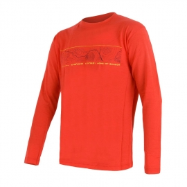 Sensor MERINO ACTIVE PT GPS - Men's functional T-shirt
