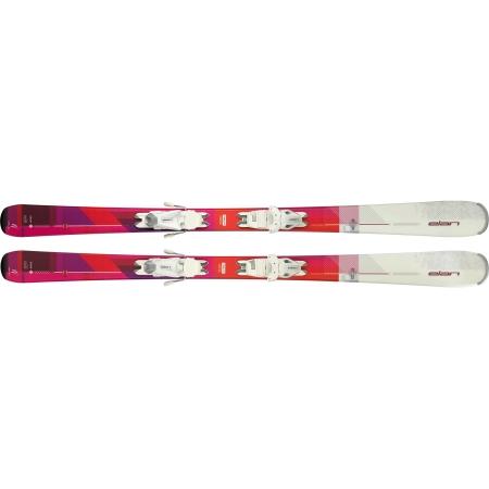 Dámske zjazdové lyže - Elan SNOW LS + EL 7.5 - 2