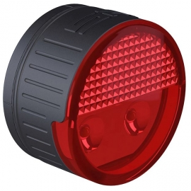 SP Connect ROUND LED SAFETY LIGHT RED - Red light