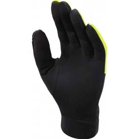 Unisexové zateplené rukavice - Mizuno WARMALITE GLOVE - 2