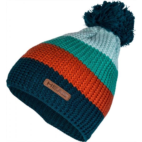 Head LOU zelená UNI - Zimní čepice