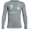 Chlapecké triko - Under Armour HYBRID BIG LOGO LS TEE - 1