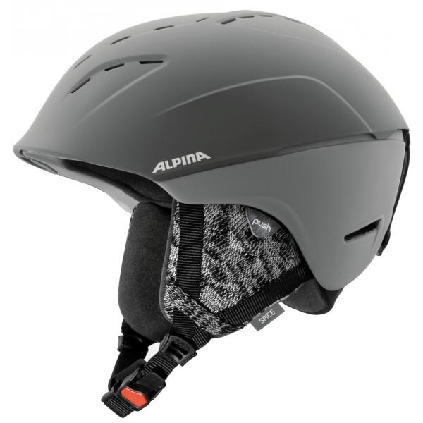 Alpina Sports SPICE szary (55 - 59) - Kask narciarski