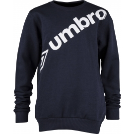 Umbro LINEAR LARGE LOGO CREW SWEATSHIRT-JNR