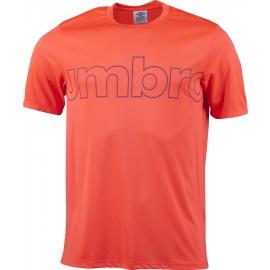 Umbro VELOCE POLY TEE - Pánske športové tričko
