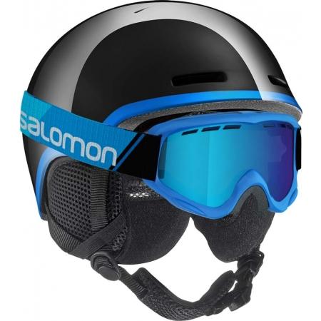 Cască ski copii - Salomon GROM BLUE / RED - 2