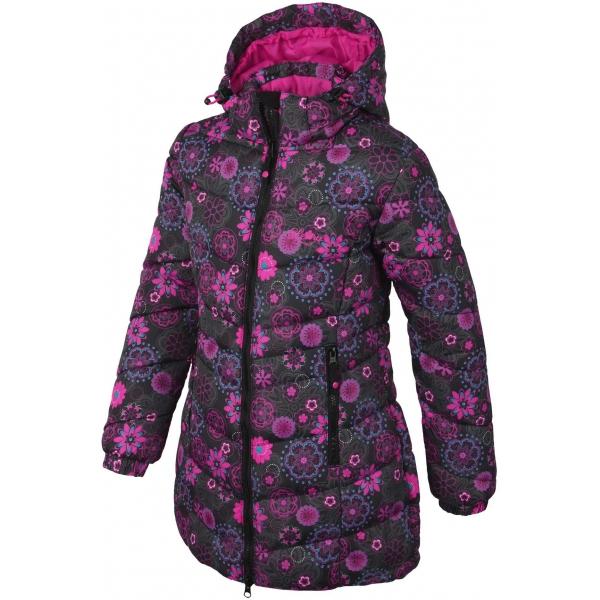 Lewro HELLA 140-170 rózsaszín 164-170 - Lányos steppelt kabát