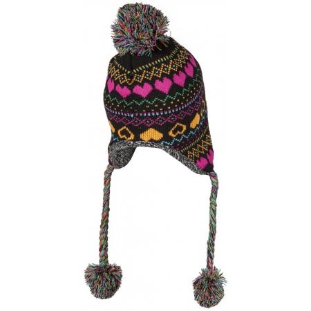 Dievčenská pletená čiapka - Lewro BUTTERFREE - 2