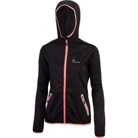 Klimatex LENCI - Dámská softshellová bunda s kapucí