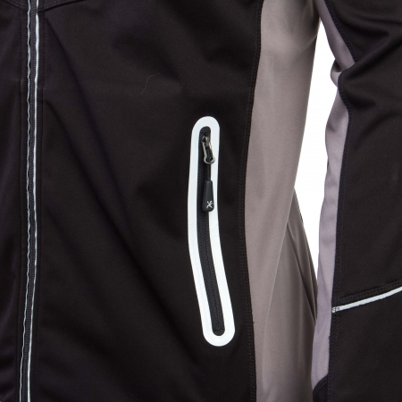 Pánská softshellová bunda s kapucí - Klimatex DITRIK - 3