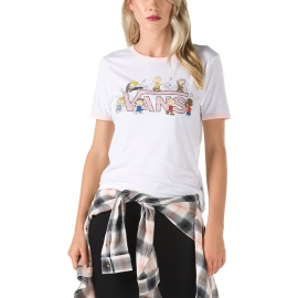 Vans PEANUTS DANCE PARTY RINGER - Women's T-shirt