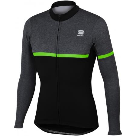 Pánský cyklistický dres s dlouhým rukávem - Sportful GIARA WARM TOP - 1