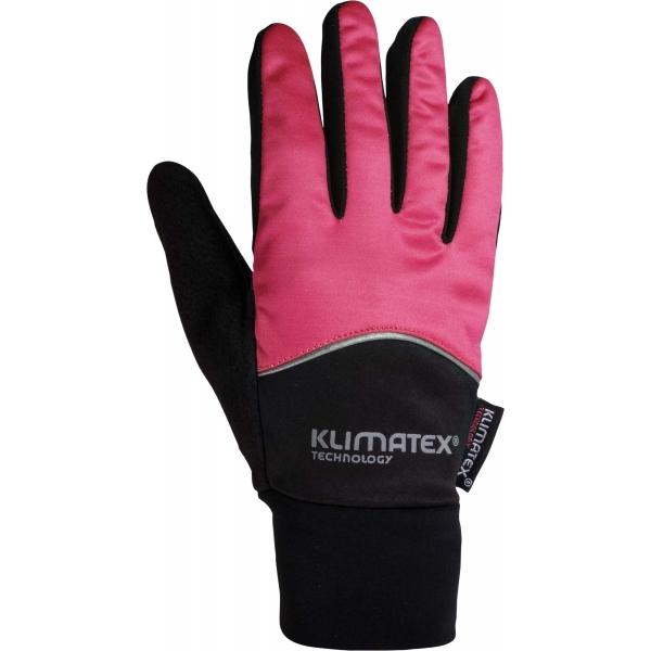 Klimatex DIOGO černá S - Softshellové rukavice