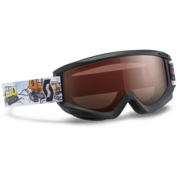 Scott JR AGENT AMPLIFIER čierna NS - Detské lyžiarske okuliare