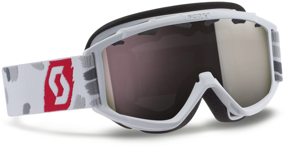Scott Junior Hook-up Goggles /(Liberty Red, Silver Chrome/) Christmas presents