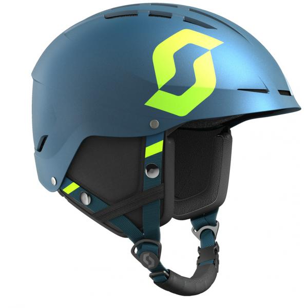 Scott APIC PLUS JR granatowy (53 - 56,5) - Kask narciarski dziecięcy