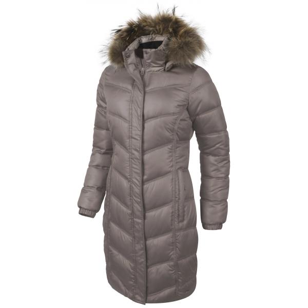 Willard IZZY hnědá XL - Dámský prošívaný kabát