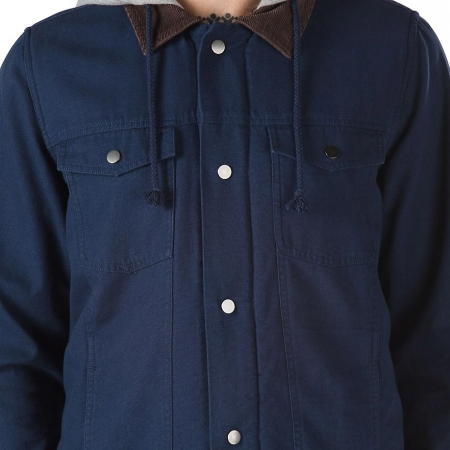 Pánská bunda - Vans EDICT II DRESS BLUES - 3