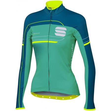 Dámský cyklistický dres s dlouhým rukávem - Sportful GRUPPETTO PRO W THERM - 1