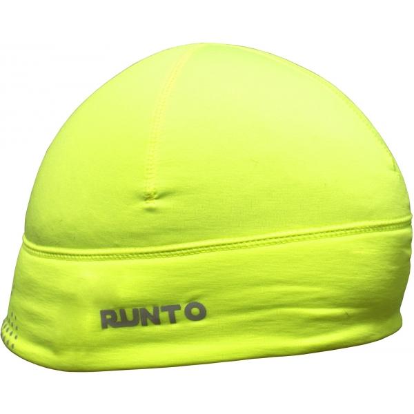 Runto SCOUT zelená UNI - Běžecká elastická čepice
