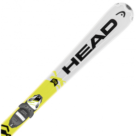 Head SUPERSHAPE TEAM SLR2 + SLR 7.5AC - Детски ски за спускане