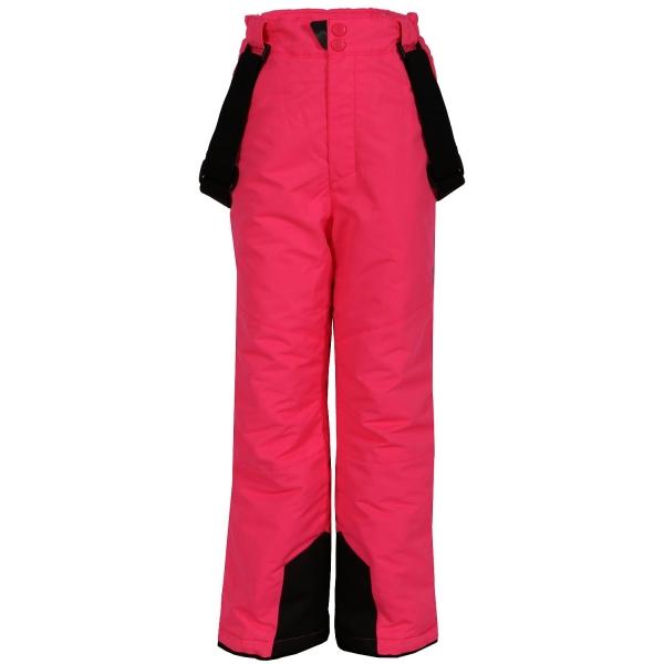ALPINE PRO FUDO ružová 152-158 - Detské nohavice