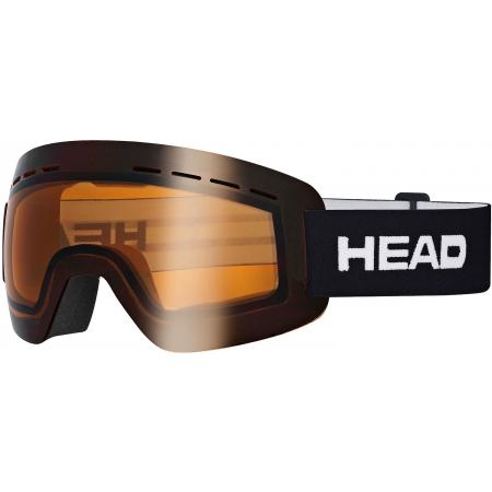 Skibrille - Head SOLAR ORANGE