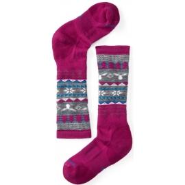 Smartwool WINTER FAIRISLE MOOSE - Kids' ski knee socks