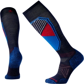 Smartwool PHD SKI LIGHT PATTERN - Men's ski knee high socks