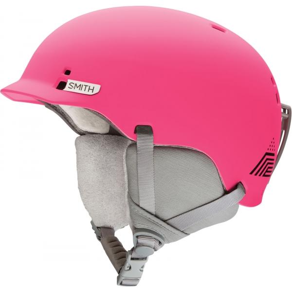 Smith GAGE JR różowy (48 - 53) - Kask narciarski juniorski