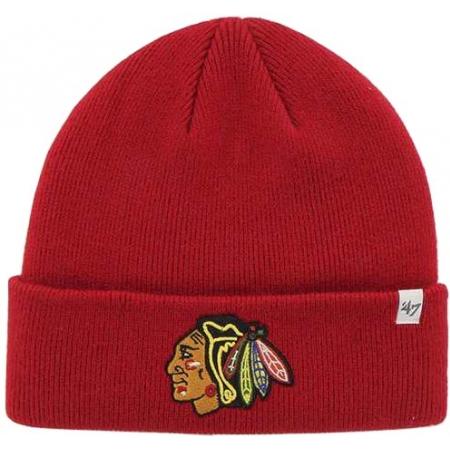 Зимна шапка - 47 NHLCHICAGO BLACKHAWKS 47 CUFF KNIT BEANIE